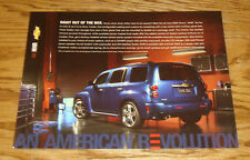 Original 2006 Chevrolet HHR Fact Sheet Sales Brochure 06 Chevy