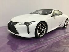 NEW Kyosho Die Cast Car SAMURAI LEXUS LC500h White Scale 1/18  from JAPAN F/S