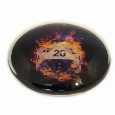 Dungeons and Dragons (Pack Of 5) DnD DM GM Inspiration tokens glass Gift Props