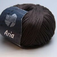 Lana Grossa Aria 022 kastanie 50g Wolle (8.50 EUR pro 100 g)