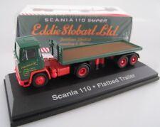 Scania 110 Flatbed  Eddie Stobart  ATLAS Edition  1:76