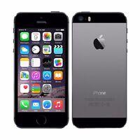 Original Smartphone Apple iPhone 5S -32Go- Sidéral DÉBLOQUÉ TOUT OPÉRATEUR Noir