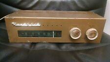 Heathkit FM-3A Tube FM Radio Tuner w/ TUNG-SOL TUBES Vintage, Works, Mid Century