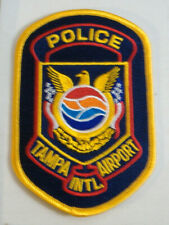 TAMPA AIRPORT FLORIDA  POLICE  FABRIC PATCH