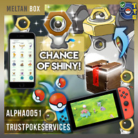 Pokemon Go Meltan Box + Catches - Safe Fast Professional - NO BAN NO SLASH