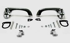 NEW! 1967-1968 Mustang Outside Door Handles, Pads,  Hardware Chrome Good Quality