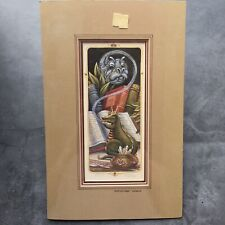 "Randal Spangler ""Misguided Magic"" Signed Numbered Art Print + Certificate 1987"