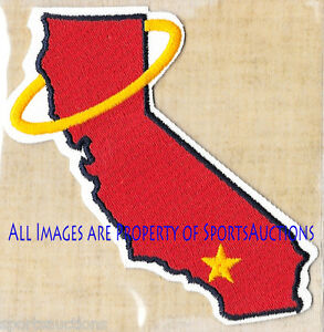 1979 CALIFORNIA ANGELS Willabee Ward COOPERSTOWN COLLECTION BASEBALL TEAM PATCH