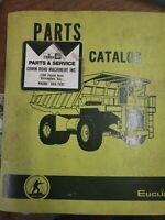 R35 Euclid Terex Parts Book Manual Off Road Hauler Dump Truck 201TD GM 12 71N