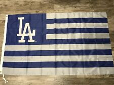 Los Angeles Dodgers Banner 3x5 Feet flag. Same Day Shipping From CA World Series