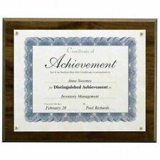 Lot 12 Create A Plaque Kit 13x10.5 Walnut Wood Finish Award Trophy Taxidermy