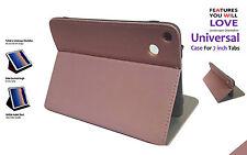Universale Flip Supporto Pieghevole Case per Amazon Kindle Cinque HD 7inch Rosa