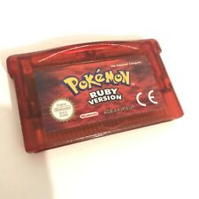 Nintendo Pokemon Ruby Version Game Boy Colour New Battery Save Fitted