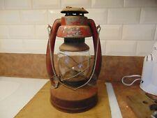 New Listingvintage /antique lantern elgin chalet decor nice # 7994