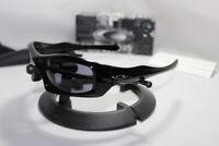 New Oakley Monster Pup Sunglasses Polished Black/Grey 30-983
