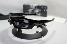 New Oakley Monster Pup Sunglasses Polished Black/Grey 30-983