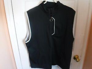 Mens Golf Callaway Black Golf Vest size XL TG