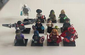lego marvel minifiguren serie Set alle 12 Figuren