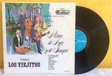 TRIO LOS VIEJITOS MÉXICO DE AYER Y DE SIEMPRE MEXICAN LP TRIOS