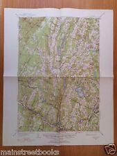 HARDWICK, VT Greensboro VERMONT Craftsbury GLOVER VINTAGE TOPOGRAPHICAL MAP 1951