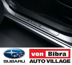 Brand New Genuine Subaru XV & Impreza Side Sill Plates MY12-Current E1010FJ100