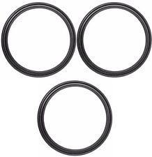 3x Dichtung O-Ring für Melitta Caffeo Bistro, CI, Gourmet, Lounge, Lattea, Solo