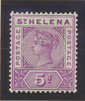 St. Helena Stamp Scott #45, Mint Hinged