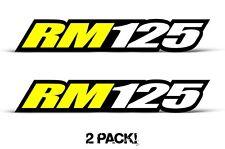 AMR Racing Suzuki RM 125 Swingarm Graphic Kit Number Plate Decal Sticker Part