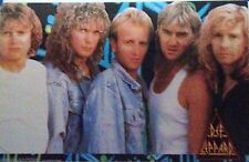 DEF LEPPARD - GROUP CLOSE UP  POSTER