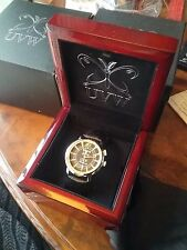 Authentic  UVW Radial Tangiers #715 Ronda move. Watch mens