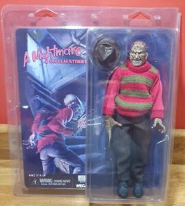 """NECA - A NIGHTMARE ON ELM STREET FREDDY KRUEGER CLOTHED 8"""" Action Figure - 2013"""