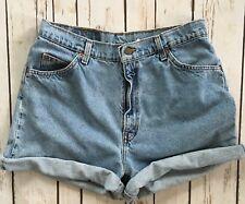 Vintage 920 Levis Womens High Waisted Orange Tab USA Jean Shorts Sz 14