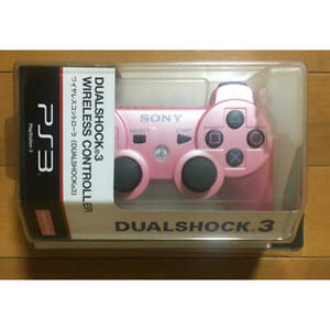 DUALSHOCK 3 Wireless Controller Candy Pink Sony PS3 PlayStation 3 Genuine