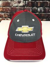 Gold Bowtie Tr-Color Cap Hat w/Embroidered Chevrolet Bowtie Logo