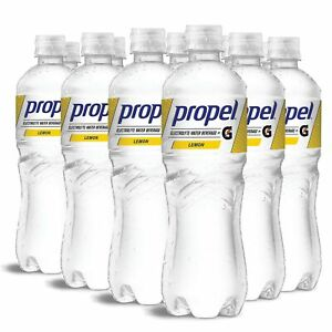 Propel, Lemon, Zero Calorie Water Beverage with Electrolytes & Vitamins C&E, ...