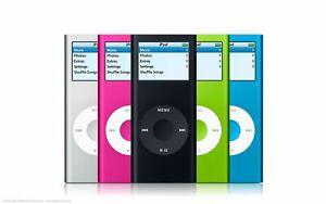 Apple iPod Nano 1st, 2nd, 3rd, 4th, 5th, & 6th Generation 2GB, 4GB, 8GB, & 16GB