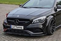 Spoilerschwert Frontspoiler Spoilerlippe ABS Mercedes A 45 AMG W176 ABE