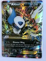 Mega Absol EX ULTRA RARE XY63 Black Star Promo Pokemon card TCG NM HOLO