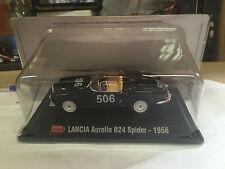 "DIE CAST 1000 MIGLIA "" LANCIA AURELIA B24 SPIDER - 1956 "" + BOX 2 SCALA 1/43"