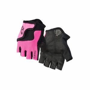 Cycling Gloves Fingerless Giro Bravo Junior Cycling Mitt 2017 Mono Black Xs