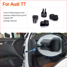 4 Pcs Car Door Arm Rust waterproof Stopper Buckle Protection Cover For Audi TT