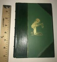 LEATHER; WINNIE THE POOH! (FIRST EDITION/FIRST PRINTING! 1926!) Methuen London