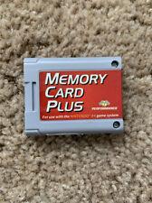 Memory Card Plus Performance Nintendo 64 N64