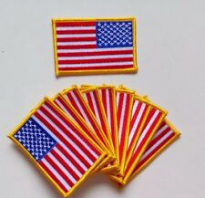 Flag From USA Embroider patches iron on or sewing!