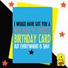 Funny Virus Birthday Card Worst Wife Husband Boyfriend Girlfriend Joke CV04