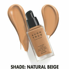 Avon True Colour Flawless Liquid Foundation Spf15 -1 oz - 30 ml / Natural Beige