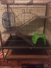 "Large 31"" x 36"" Small Animal Cage Chinchilla Ferret Mice Hamster + 14"" X14"" cage"