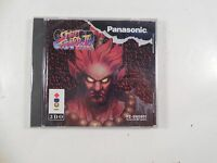 SEALED PANASONIC 3D0 SUPER STREET FIGHTER II TURBO VIDEO GAME FZ-SM3851