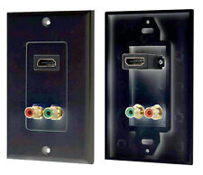 New Pyle PHDMRBC2 HDMI/Stereo Dual RCA Audio Combo Wall Plate