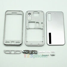 FULL HOUSING KEYPAD + FACEPLATE + COVER FOR SAMSUNG TOCCO S5230 #H278_SILVER